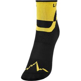 La Sportiva Trail Calze da Corsa, nero/giallo